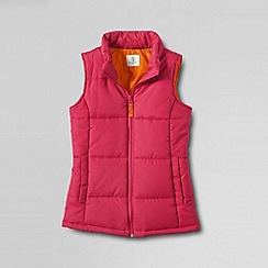 Lands' End - Pink girls' insulated gilet