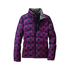Lands' End - Blue patterned down jacket
