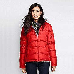 Lands' End - Orange women's midweight down jacket