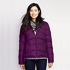 Lands' End - Purple women's midweight down jacket