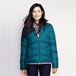 Lands' End - Blue women's midweight down jacket