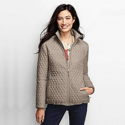 Lands' End - Brown women's primaloft packable jacket