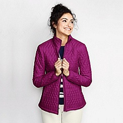 Lands' End - Purple women's primaloft packable jacket