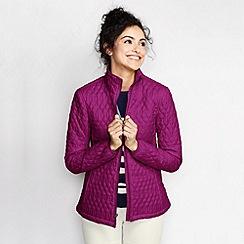 Lands' End - Purple women's primaloft packable jacket