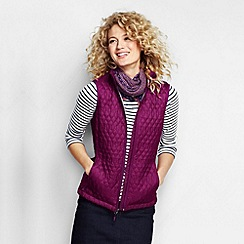 Lands' End - Purple women's primaloft packable gilet