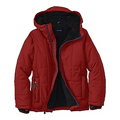 Lands' End - Red little boys' insulated jacket
