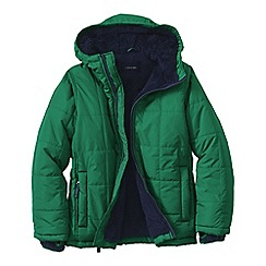 Lands' End - Green little boys' insulated jacket