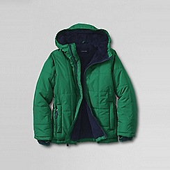 Lands' End - Green boys' insulated jacket