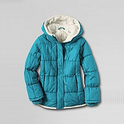Lands' End - Blue girls' insulated jacket