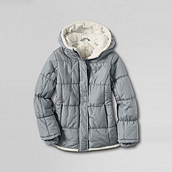 Lands' End - Grey girls' insulated jacket