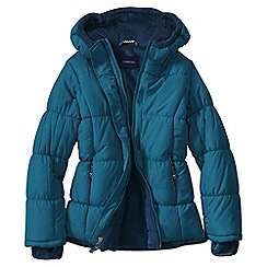Lands' End - Blue little girls' insulated jacket