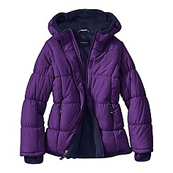 Lands' End - Purple little girls' insulated jacket