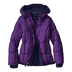 Lands' End - Purple girls' insulated jacket