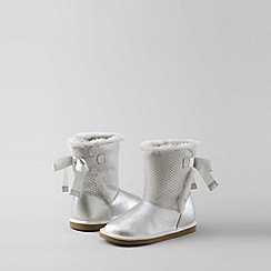 Lands' End - Metallic girls' lilly cosy boots