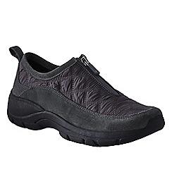 Lands' End - Grey women's  zip-front shoes