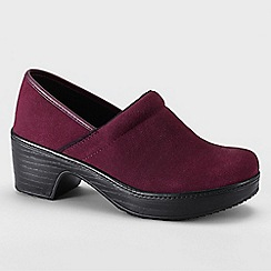 Lands' End - Purple women's camden clog shoes