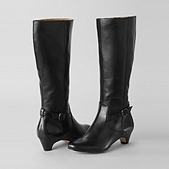 Lands' End - Black women's regular emory boots