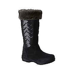 Lands' End - Black sophia winter boots