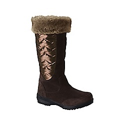 Lands' End - Brown sophia winter boots