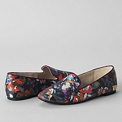 Lands' End - Multi women's regular vivian venetian pumps