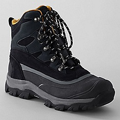 Lands' End - Grey men's kenosha snow boots