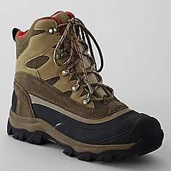 Lands' End - Brown kenosha snow boots