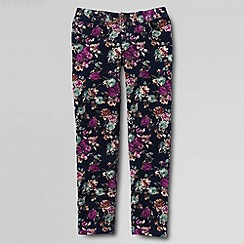 Lands' End - Blue girls' pencil leg cords