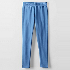 Lands' End - Blue little girls' thermaskin leggings