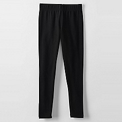 Lands' End - Black girls' thermaskin leggings