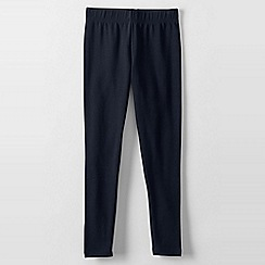 Lands' End - Blue girls' thermaskin leggings