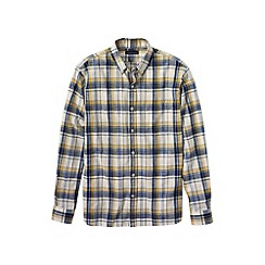 Lands' End - Multi men's plaid oxford shirt