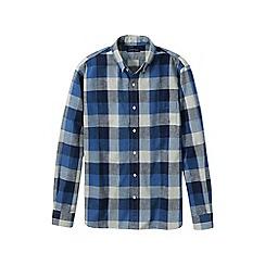 Lands' End - Multi men's plaid oxford shirt