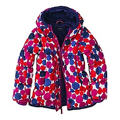 Lands' End - Pink little girls' patterned insulated jacket