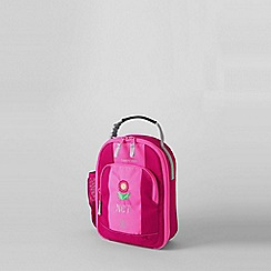 Lands' End - Pink girls' plain soft sided lunch box