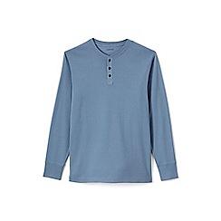 Lands' End - Blue henley pyjama t-shirt