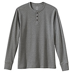 Lands' End - Grey men's henley pyjama t-shirt