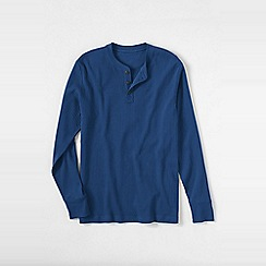 Lands' End - Blue men's henley pyjama t-shirt