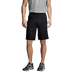 Lands' End - Black men's  active running shorts