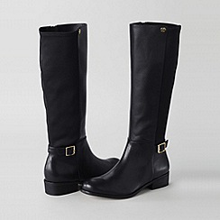 Lands' End - Black women's blakeley stretch riding boots