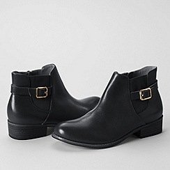 Lands' End - Black women's blakeley ankle boots