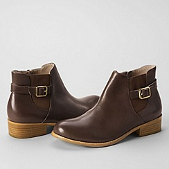 Lands' End - Brown women's blakeley ankle boots