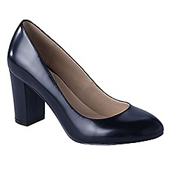Lands' End - Blue women's minnie high heel shoes