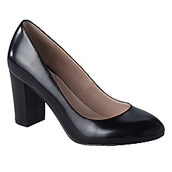 Lands' End - Black minnie high heel shoes