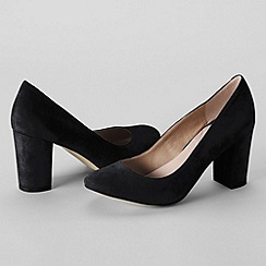 Lands' End - Black women's minnie high heel shoes