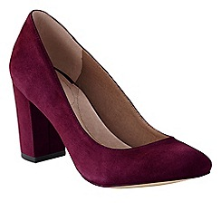Lands' End - Purple minnie high heel shoes