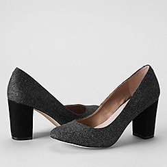 Lands' End - Grey women's minnie high heel shoes
