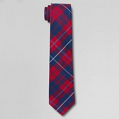 Lands' End - Red boys' plaid tie