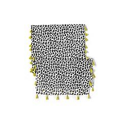 Lands' End - Cream girls' tassel scarf