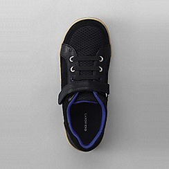 Lands' End - Black boys' landon sneakers