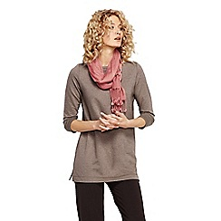 Lands' End - Beige women's regular starfish french terry boatneck tunic